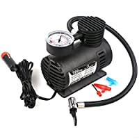 Hex Autoparts 300PSI 12V Portable Mini Air Compressor Auto Car Electric Tire Air Inflator Pump