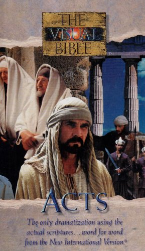 The Visual Bible: Acts [VHS]