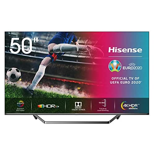 chollos oferta descuentos barato Hisense ULED 2020 50U7QF Smart TV 50 Resolución 4K Quantum Dot FALD Dolby Vision Dolby Atmos Vidaa U 4 0 con IA Alexa Built in Gris