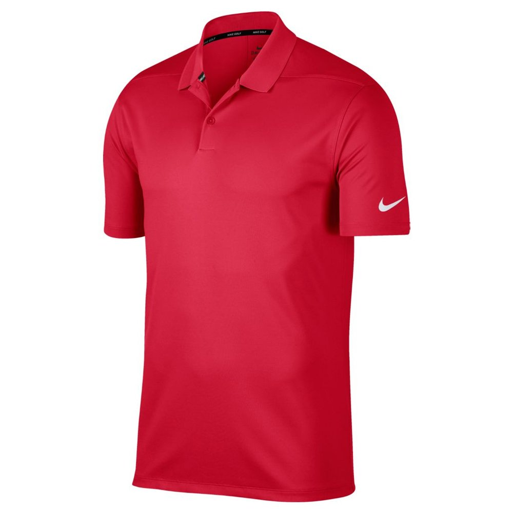 Nike Dry Victory Solid Men's Golf Polo (Team Crimson, X-Large) by Nike