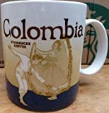 Starbucks Colombia Global Icon Collector Series Ceramic Coffee Mug, 16 Fl Oz