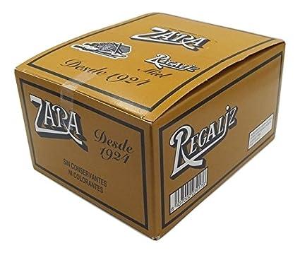 Zara - Regaliz sabor miel - 75 unidades: Amazon.es: Alimentación y bebidas