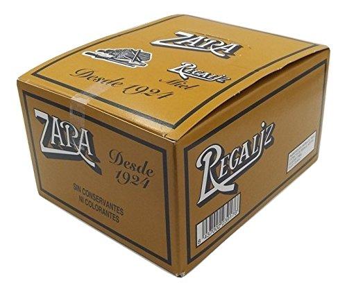 Zara - Regaliz sabor miel - 75 unidades