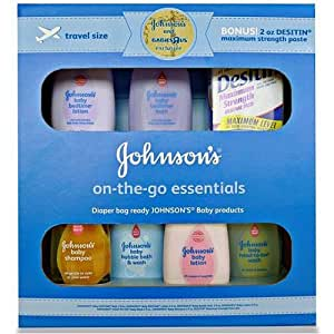 Johnson & Johnson On The Go Essentials Gift Set