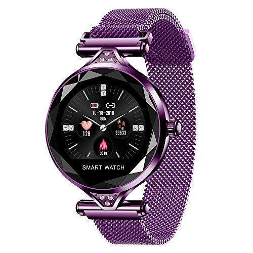 Best Wristwatch With Bluetooths - Women Wristwatch Bluetooth, KingTo 1.04 Inch