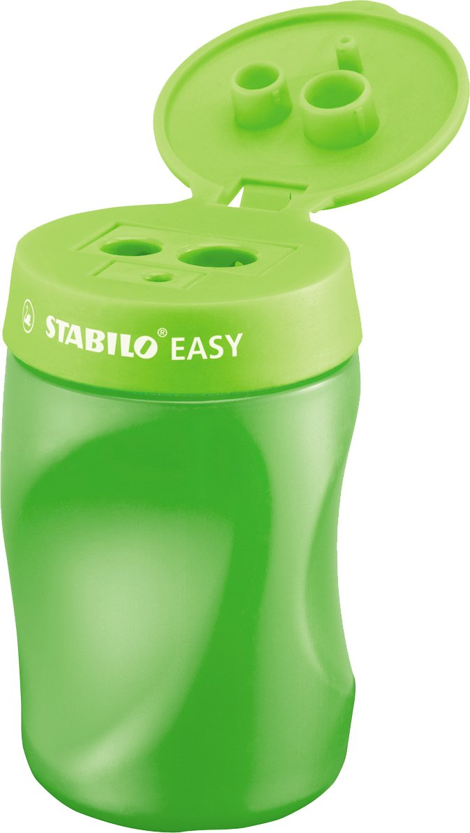 Ergonomischer Dosenspitzer STABILO® EASYsharpener, grün, R