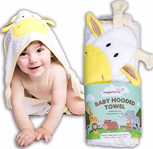 Premium Hooded Baby Towels include Free Washcloth and Ebook | Super Soft, Large and Absorbent | Suitable for Boys and Girls, Newborn and Infant | Derived from 100% Bamboo | Hands-Free (How To Dress As A Pirate)
