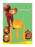 PMG Sesame Street Pumpkin Carving Kit, 3 Carving Tools, 7 Stencil Patterns