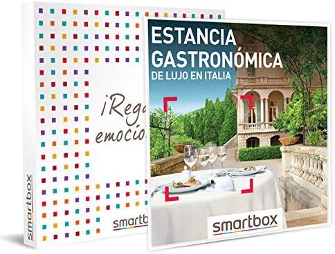 estancia gastronomica de lujo en italia smartbox