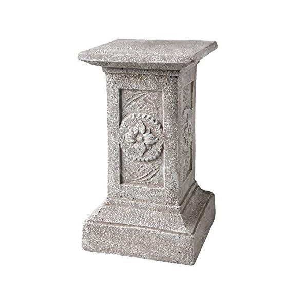 Reading-Statue-The-Little-Scholar-Concrete-Garden-Pedestal-Sculpture