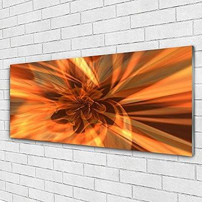 Tableau Mural Impression Sous Verre De Tulup 125x50 Cm Verre D