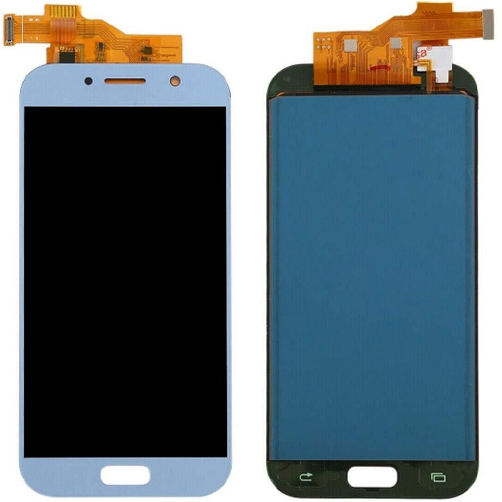 Azul Claro Gazechimp Pantalla LCD De Pantalla T/áctil Digitalizador Asamblea Y Herramientas De Reparaci/ón para Samsung Galaxy A5 2017