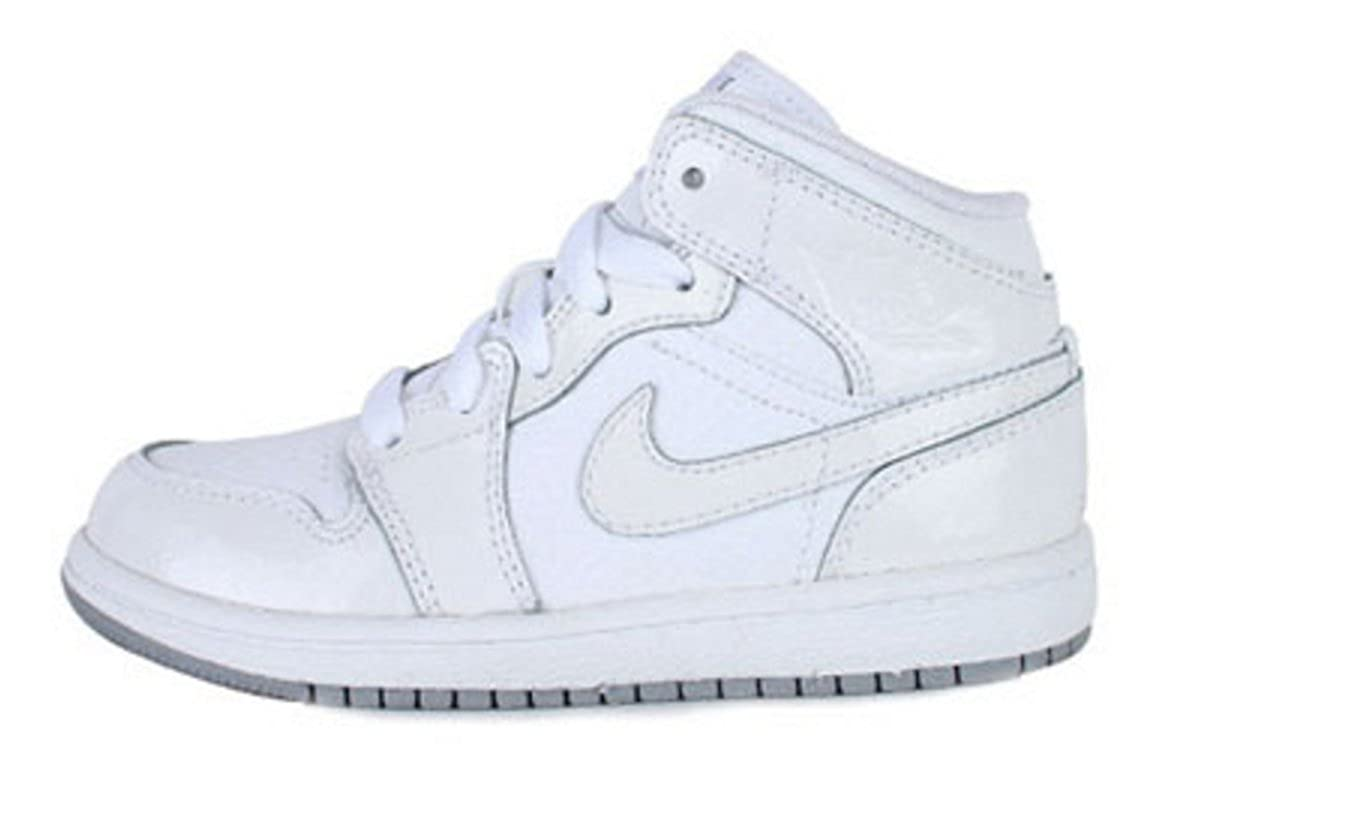 b3357c61b0e Amazon.com | Jordan 1 PHAT PS 364772 102 Basketball (1.5M) Silver/White |  Basketball