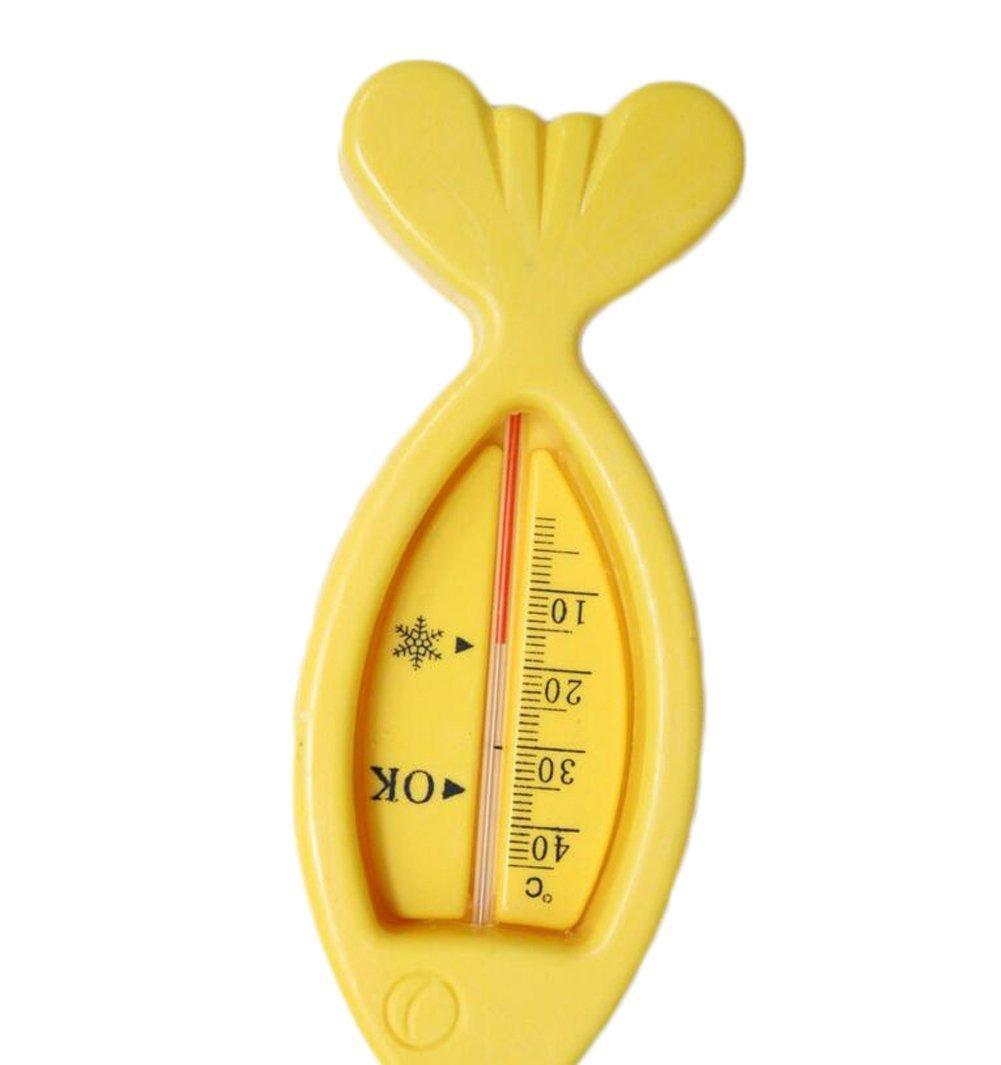 Westeng Thermomètre bébé de salle de bain, Forme poisson, Surveillance de la température de l'eau en toute sécurité SPSUDKQ775