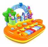GoAppuGo Amazing Baby Piano Baby Birthday Gift for 1 year boy girl baby or 2 3 year old boy girl child, Best Educational toys Learning toddlers Musical toys for kids ,Multicolor