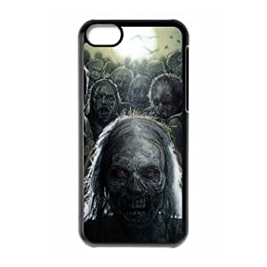 T-TGL(RQ) DIY The Walking Dead Pattern Protective Durable Back Case for Iphone 5C