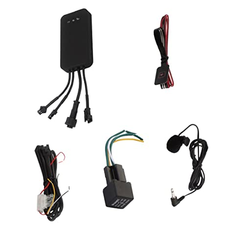 Sharplace Rastreador Tracker GPS Perseguidor Alarma Accesorios para Automóvil Coche Vehículo