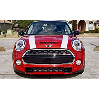 The Pixel Hut gs00245 Matte Black Hood Stripes for MINI Clubman and S F54 2015 - Present