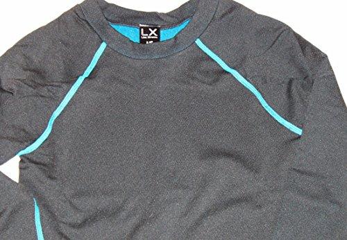 Live xtreme boy 39 s 2 pc black warm long underwear set w for Warm cheap places to live