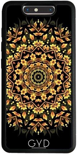 Funda Silicona para ZTE Blade V8 - Mandala De Oro Negro Elegante by Nina Baydur