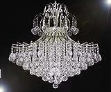 French Empire Empress Crystal (tm) Chandelier Lighting H30'' X W24''