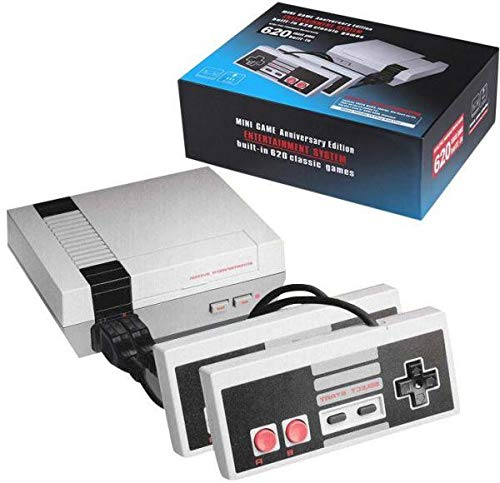 MINI GAME Enterntainment System, Anniversary Edition, Built -in 620 Classic Games