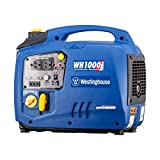 Westinghouse WH1000i Portable Inverter Generator - 1000 Running Watts and 1100 Starting Watts - Gas Powered
