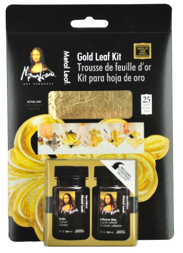 Speedball Mona Lisa Gold Leaf Kit - Creative Metal Kit