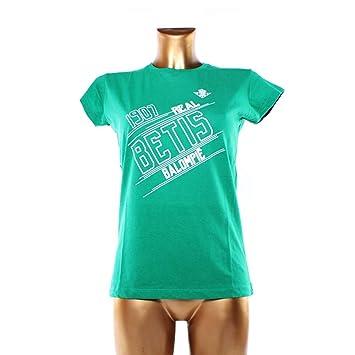 Betis RBB 1907 Camiseta Manga Corta, Unisex Adulto, Verde, S
