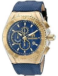 Technomarine Mens TM-115175 Cruise BlueRay Analog Display Quartz Blue Watch