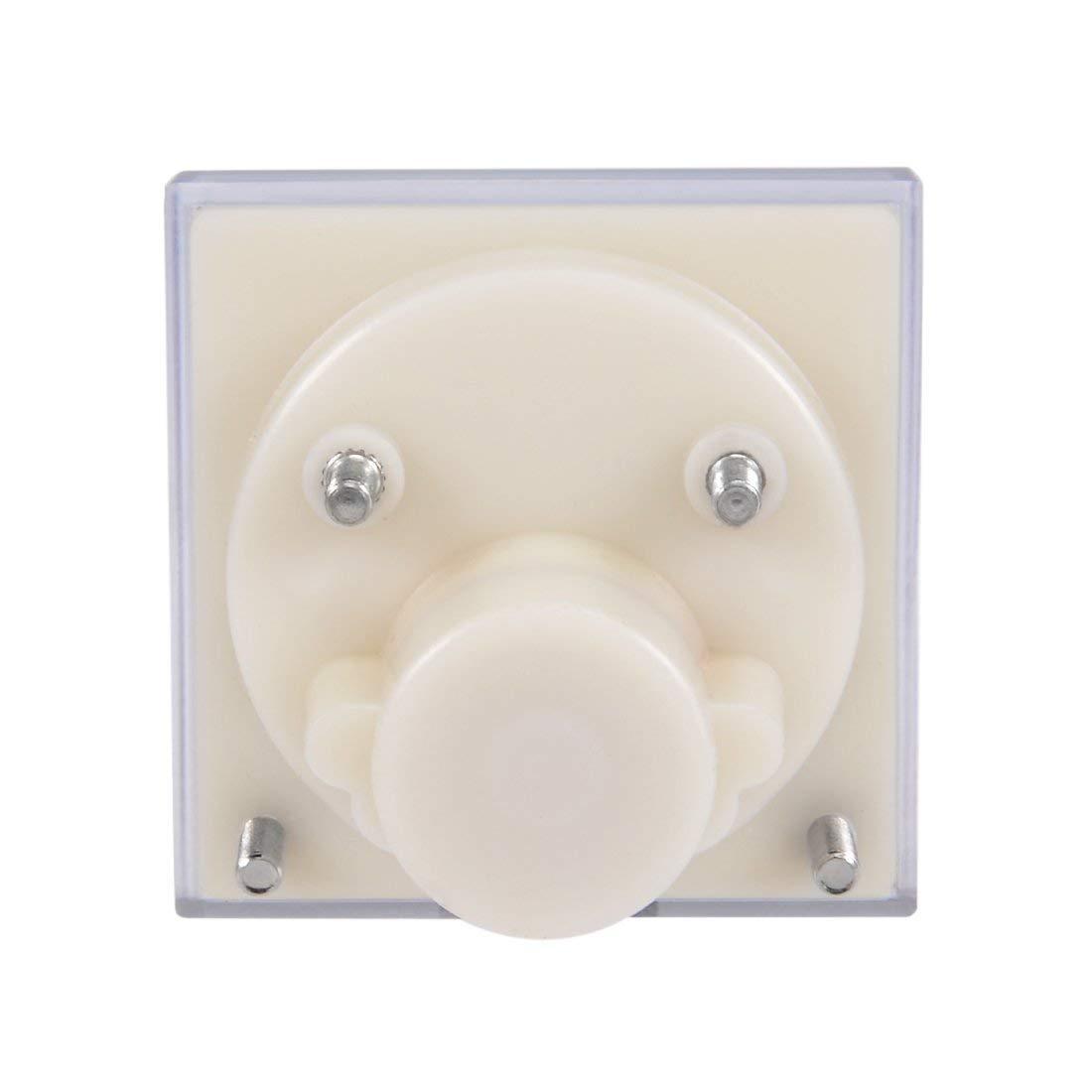 Sourcingmap 91C4-A amper/ímetro para pruebas de circuito Medidor de corriente anal/ógica de 30 mAh