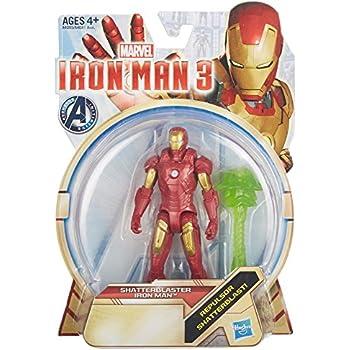 Iron Man 3 Shatterblaster Iron Man 3.75 inch Action Figure