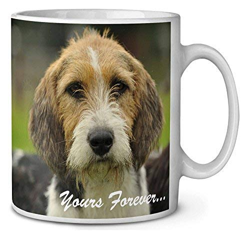 Voicpobo Welsh Fox Terrier Dog Yours Forever. Novelty Ceremic Coffee Mugs 11 Oz Christmas Birthday Mug Gifts for Mom,for Dad,for Girls,for Kidse