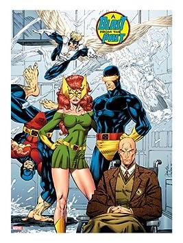 X-Men No. 1: 20th de cartas: Marvel Diseño de chica con ...