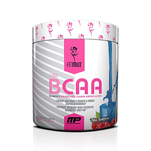 FitMiss Women's BCAA Powder, 6 Grams of BCAAs Amino Acids, Post Workout Recovery Drink for Muscle Recovery and Muscle Building, Strawberry Margarita, 30 Servings by FitMiss