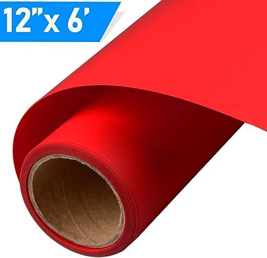 10x Pro Heat Transfer Vinyl Iron On Fabric T-Shirt Press Cutter Film HTV DIY Hot