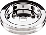 Billet Specialties 81220 Polished 2 Groove Water Pump Lower Pulley for Small Block Chevy