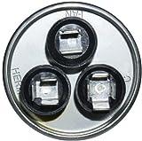 GE Genteq Capacitor round 25/5 uf MFD 370 volt