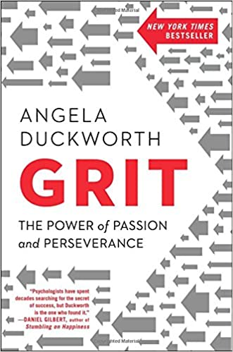 Grit: The Power of Passion and Perseverance Book Cover