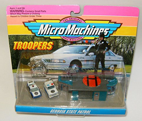 Micro Machines Georgia State Patrol Troopers Set #7