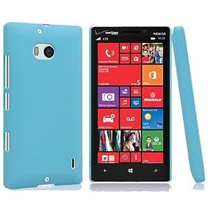 Topratesell 2014 New Quicksand Hard Matte Skin Case for Verzion Nokia Lumia 929 Icon (Blue)