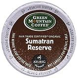 Green Mountain Fair Trade Organic Sumatran Reserve Extra Bold Coffee Keurig K-Cups, 18 Count