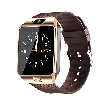 Reloj inteligente DZ09 Pantalla táctil Bluetooth Smartwatch ...
