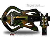 Contact Decal Style Skin - fits Warriors Of Rock Guitar Hero Guitar (GUITAR NOT INCLUDED)