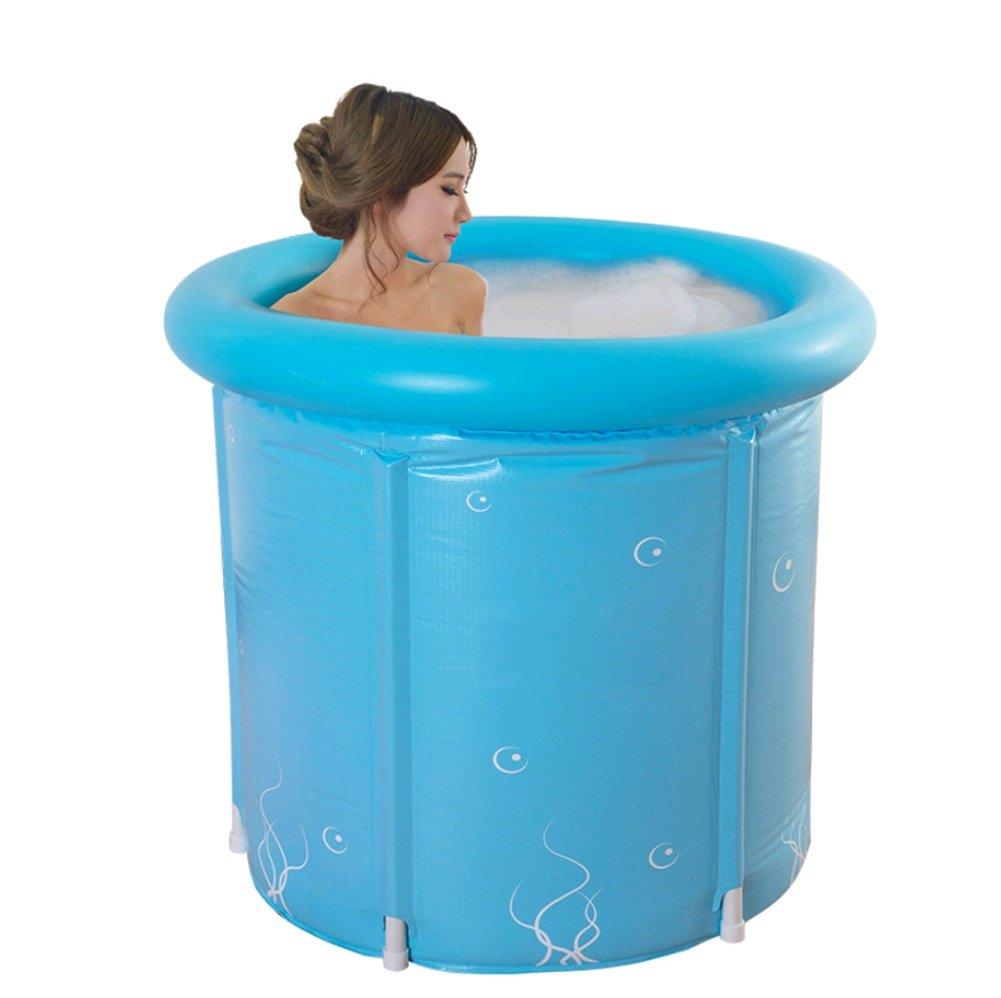 primera vez respuesta 7070 AISHUAIGE Bañera Grande pequeña Plegable Bañera para Adultos Bañera Bañera Bañera de plástico Bañera  Disfruta de un 50% de descuento.