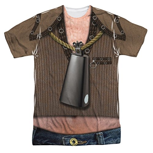 Saturday Night Live - Cowbell Costume (Front/Back Print) T-Shirt Size S ()