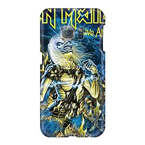 Best Cell-phone Hard Covers For Samsung Galaxy S6 With Provide Private Custom Fashion Iron Maiden Band Pattern CristinaKlengenberg