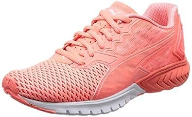 Puma IGNITE Dual Mesh Running Shoes for women, Peach, Size 42.5 EU