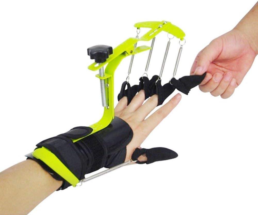 Iniciativa de entrenador de dedos multifunción Ortesis de muñeca pasiva Adulto Propósito general Multifunción Activa y dinámica,Verde