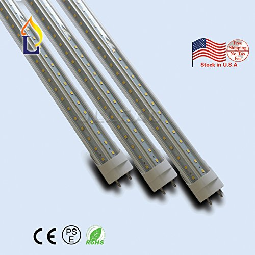 (15 PACK) 6ft 40W Led T8 V shape Tube light 70 inches Fluorescent replacement Light G13 home light Bulbs SMD2835 192LEDS for beer cooler& store room